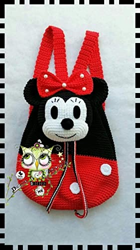 Minnie Mouse Amigurumi - Free Pattern (Beautiful Skills - Crochet ... | 500x281