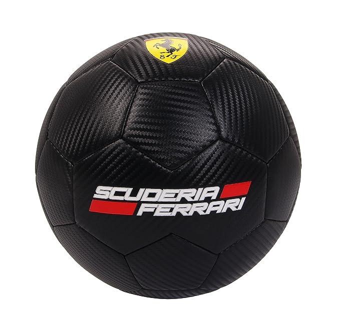FERRARI f667 Balón de fútbol, Negro, Talla única: Amazon.es ...