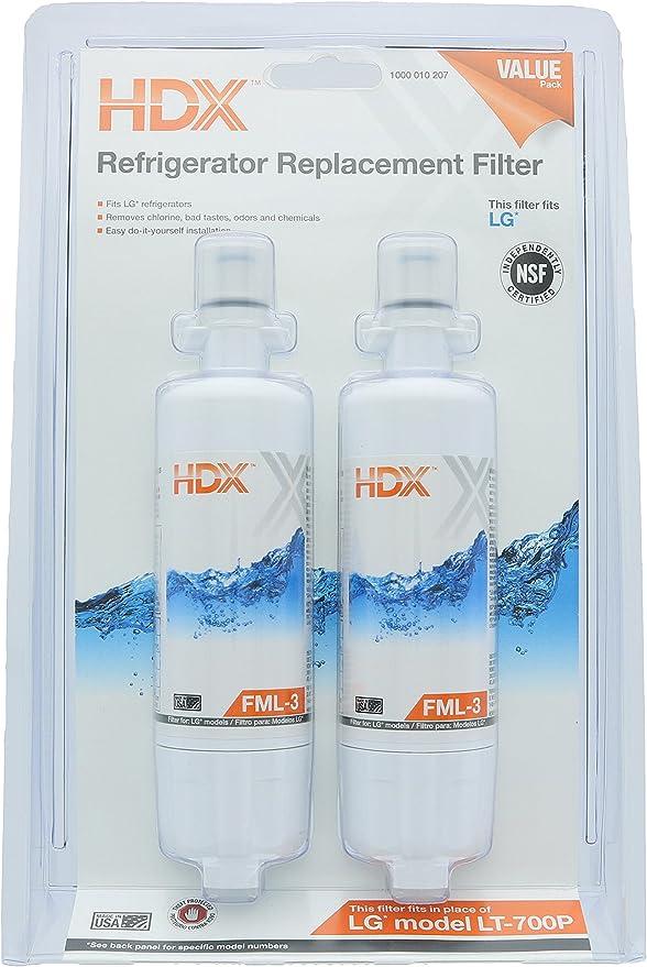HDX FML-3 Filtro de agua / purificador de repuesto para ...