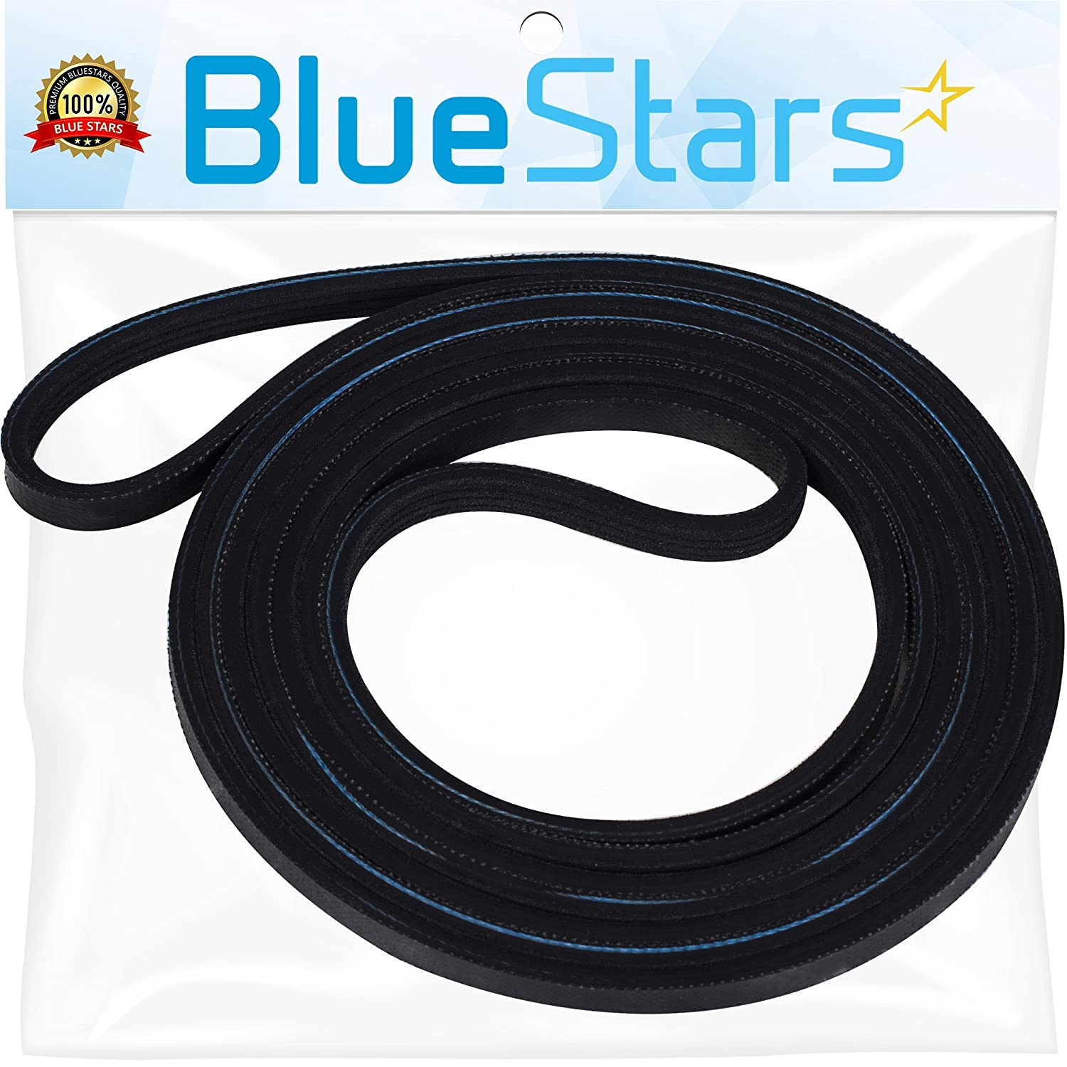 Ultra Durable 137292700 Dryer Drum Belt Replacement Part by Blue Stars- Exact Fit for Frigidaire Electrolux Dryer- Replaces WE12M29 134163500 134503900 1615170