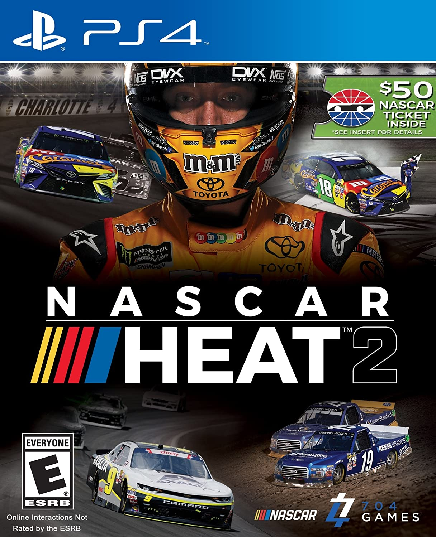 Amazon.com: NASCAR Heat 2 - PlayStation 4: Video Games