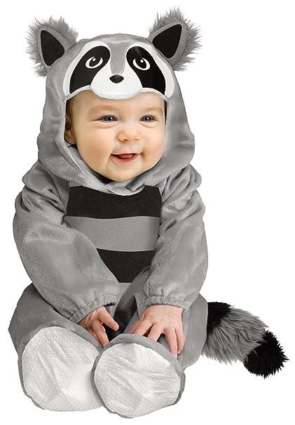 Amazon.com: Fun World Disfraz de mapache para bebé: Clothing