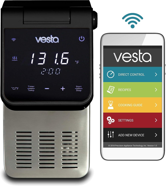 Vesta Precision Panel604 Precise Temperature Control Panel, 10.5 x 6.3 x 5.9 inches, Black