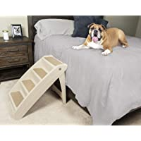 PetSafe Solvit PupSTEP Plus Pet Stairs, Foldable Steps for Dogs and Cats, for Small, Medium,…