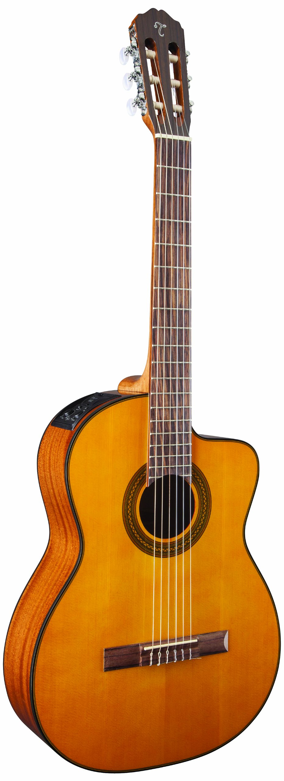 Takamine 6 String Solid-Body Electric Guitar, Right Handed, Natural (GC1CENAT) by Takamine