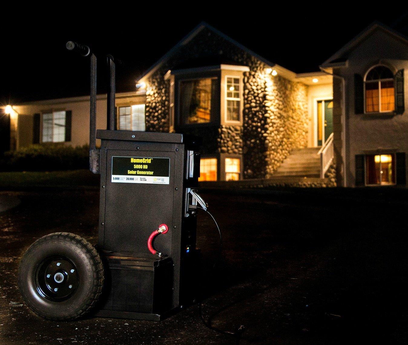 HomeGrid 5000HD Portable Solar Generator