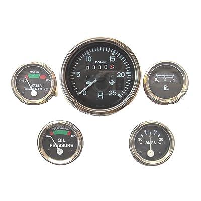 Tachometer Gauge Set for Massey Ferguson Tractor MF35 MF50 MF65 MF135 MF150-165 175 180: Industrial & Scientific