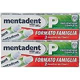 Mentadent Dentifricio - 2 Confezioni da 4 x 75 ml