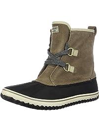 Sperry Womens Schooner Slouch TIE Boots