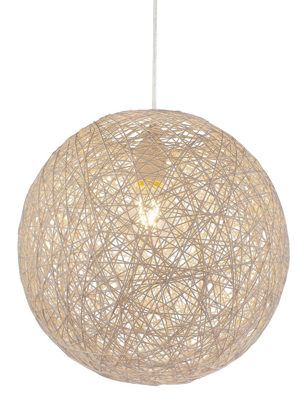 Hängeleuchte Deckenlampe Schlafzimmer Papier Kugel Lampenschirm