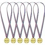 Pangda 24 Packung Kinder Gold Kunststoff Sieger Medaillen Golden Awards