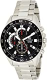 Casio Watch For Men Quartz , Analog Display and Stainless Steel Strap Efv-550D-1Avudf, Silver Band
