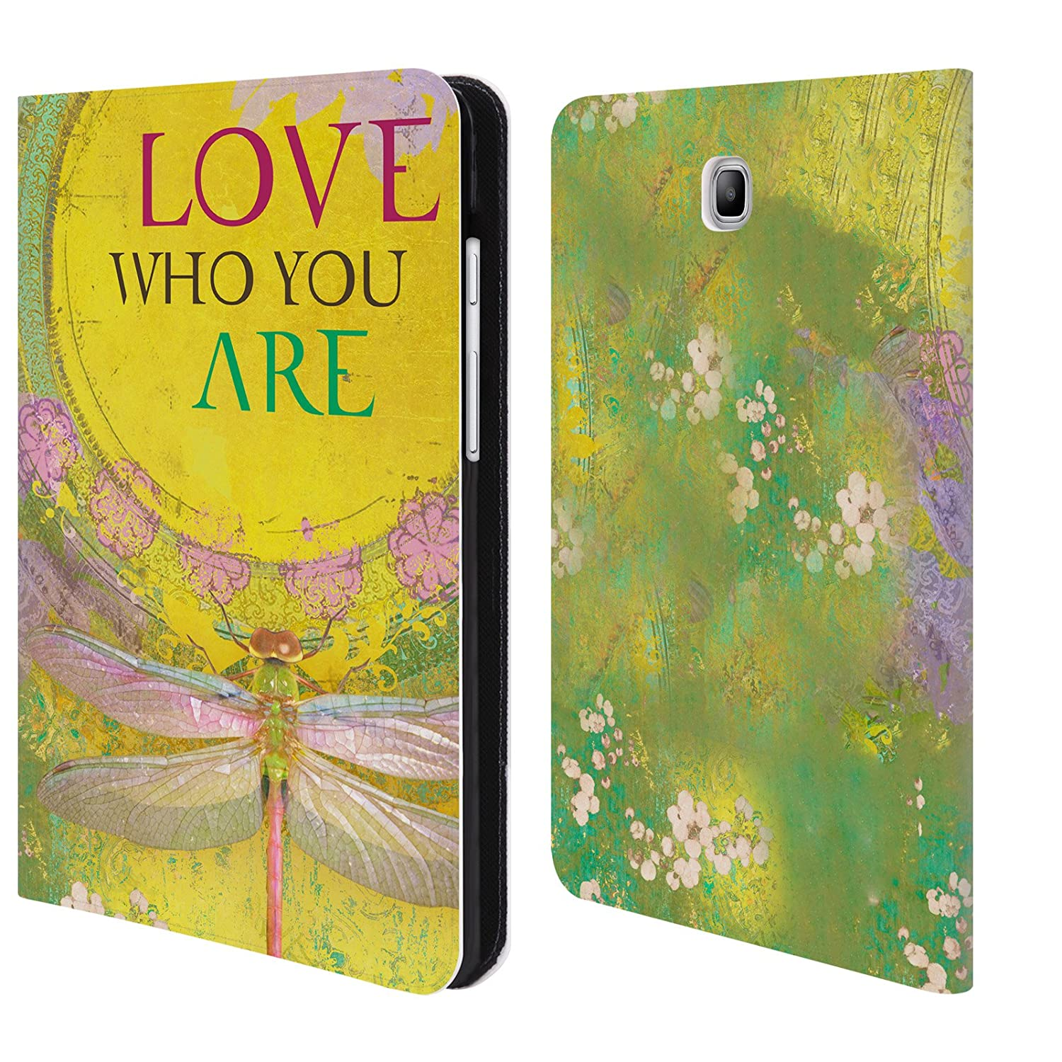 Official Duirwaigh Dragonfly 3 Insects Leather Book Wallet Case Cover For Samsung Galaxy Tab S2 9.7 Head Case Designs HLBWH-T810-DURWINS-LDRA3