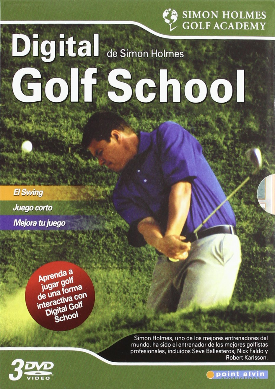 Amazon.com: Pack Digital Golf School (3 Dvd) (Import Movie) (European Format - Zone 2) [2008]: Movies & TV