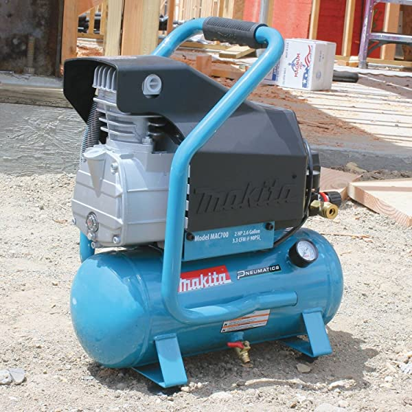 with the Makita MAC700, be assured that this annoying feature will be put to rest.