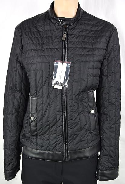 Versace Abrigo Negro Para Mujer Art. V500187 Blouson