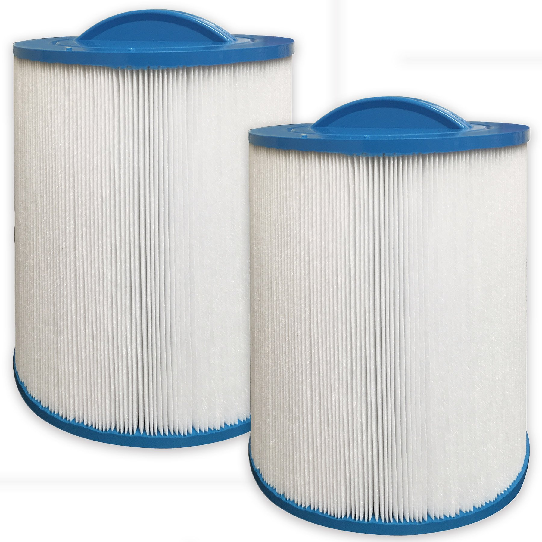 2 pack Guardian Spa Filters- Replaces Pleatco PAS50SV-F2M, Unicel 6CH-502, Filbur FC-0311 - Fits Artesian, Majestic Spas by Guardian Filtration Products