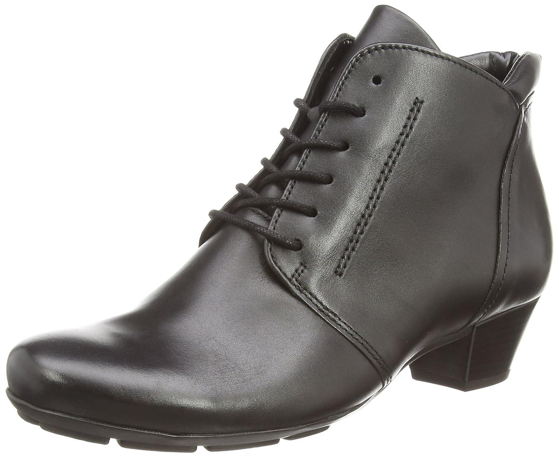 Gabor Mega, Damen Kurzschaft Stiefel, Schwarz (schwarz Leder), 40 EU (6.5 UK) -