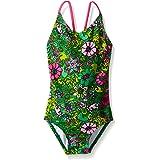 Kanu Surf Girls' Karlie Flower One Piece Swimsuit