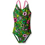 Amazon Price History for:Kanu Surf Girls' Karlie Flower One Piece Swimsuit
