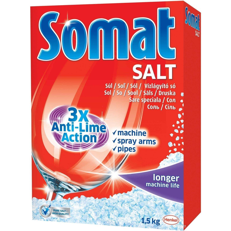 Somat Lavavajillas Sal 6639663, 1.5 Kg (Pack of 2), 1: Amazon.es ...