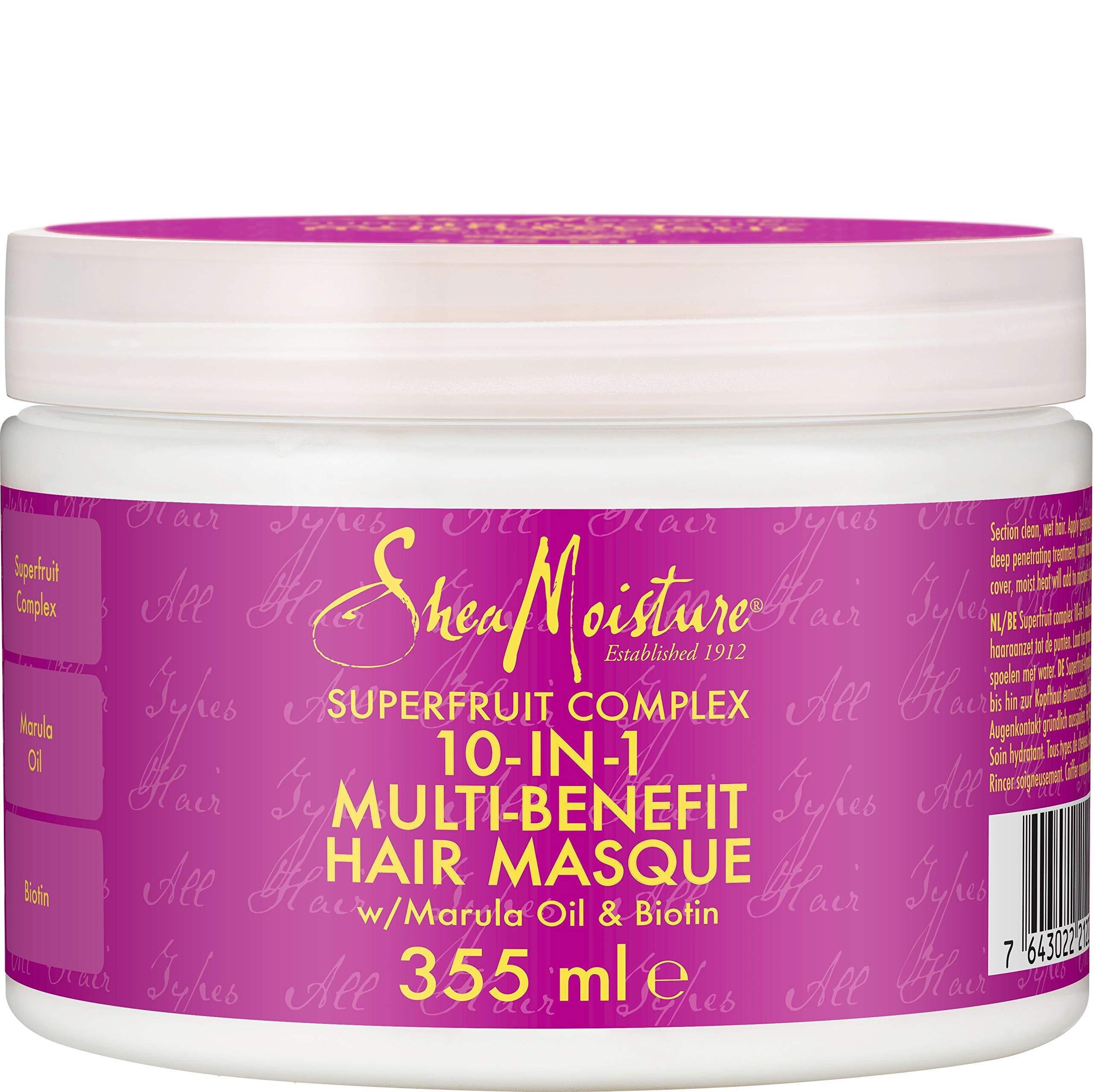 Shea Moisture Superfruit 10-in-1 Renewal System Hair Masque, 355 ml