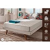 Naturalex - OPTISOFT Mattress 140 x 190 x 20 cm + Blue Latex® + Thermosoft® Memory Foam, Firm