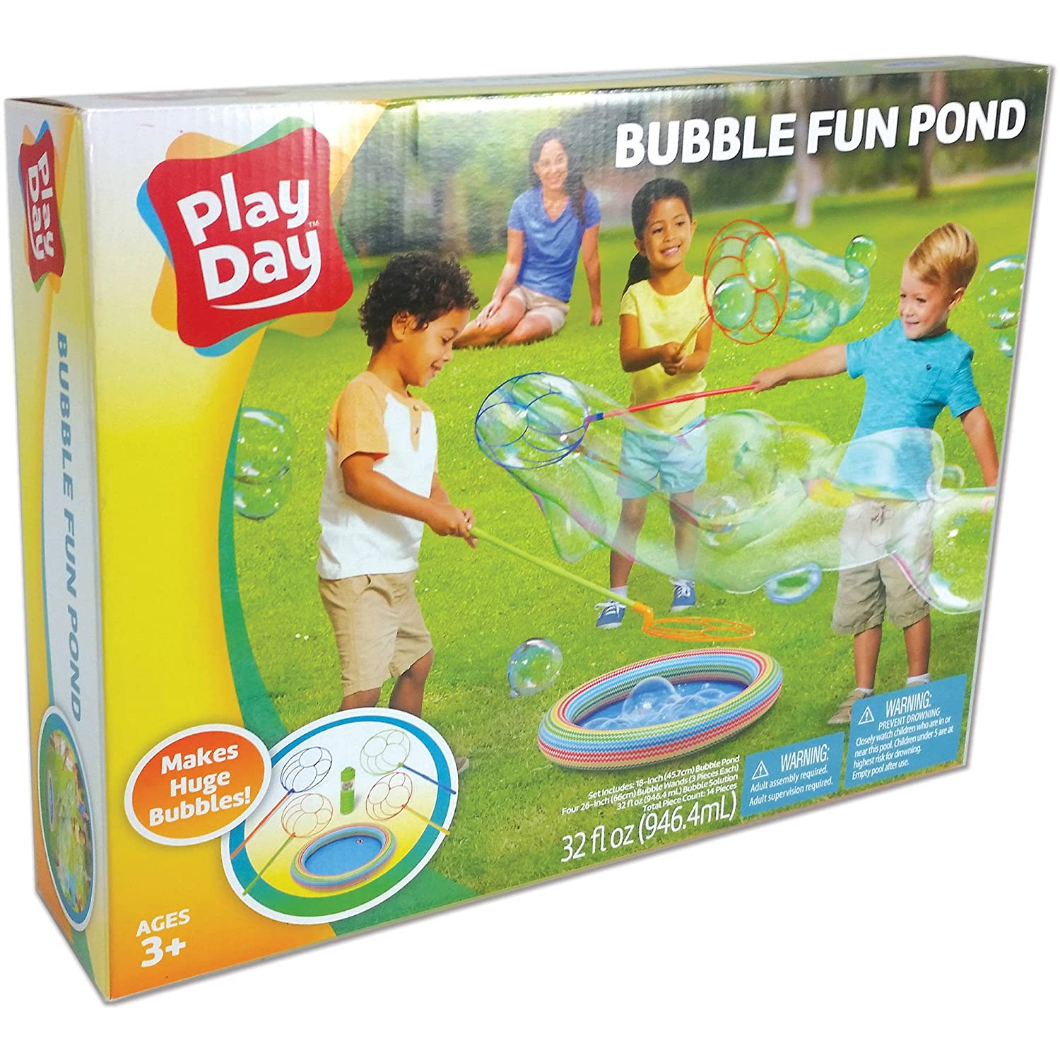 Bubble Fun Pond Outdoor Fun by Play Day
