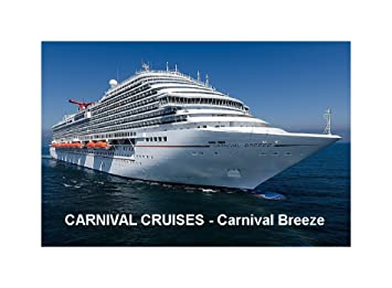 amazon com cruise ship fridge magnet carnival cruises carnival