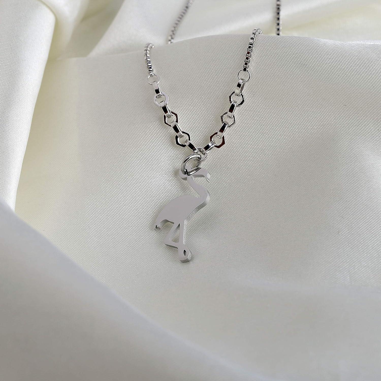 AKTAP Flamingo Gifts Flamingo Charm Bracelet Adjustable Link Bracelet Bangle Flamingo Lover Gift