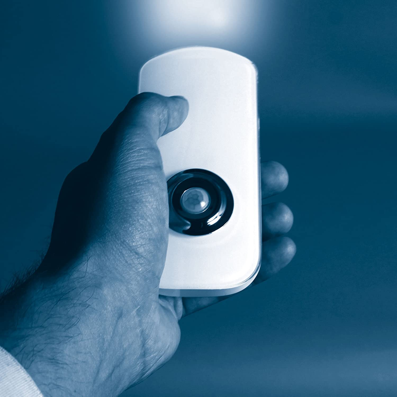 Smartwares Luz de Noche Led Smartlight 1.6 W Blanco 13.8x23.8x5.8 cm