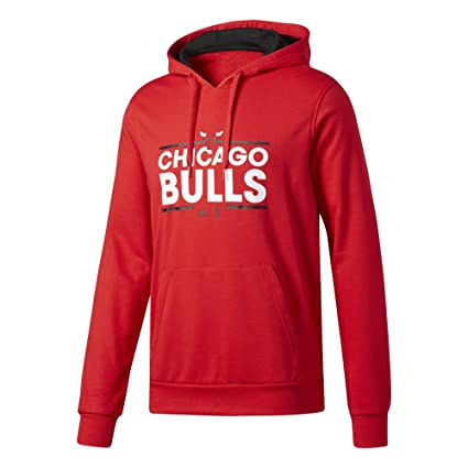 2e8eeb6e08 Adidas Basics Felpa Chicago Bulls, Uomo, Uomo, Basics, Rosso (nbacbu), L:  Amazon.it: Sport e tempo libero