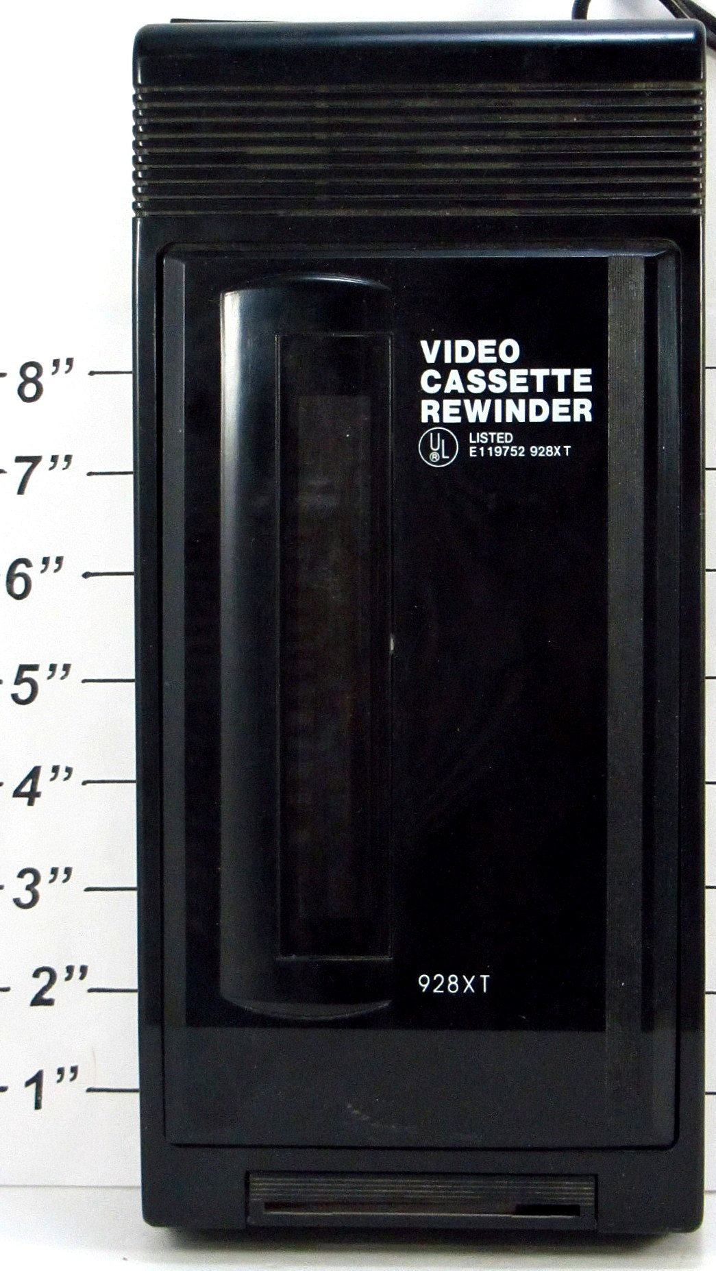 Amazon.com: Solidex 928XT VHS Video Cassette Rewinder, Black: Home Audio & Theater