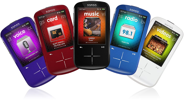 SanDisk Sansa Fuze Red 4 GB MP3 Player