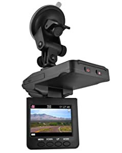 "DP Audio Video 2.5"" HD Dash Cam with Night Vision"