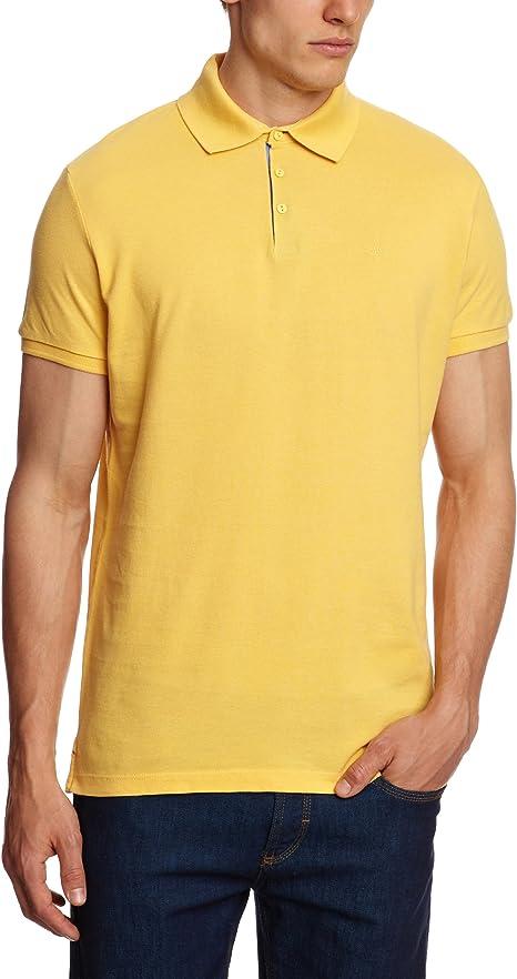 Wrangler - Polo - Polo - para Hombre Amarillo Amarillo XXX-Large ...
