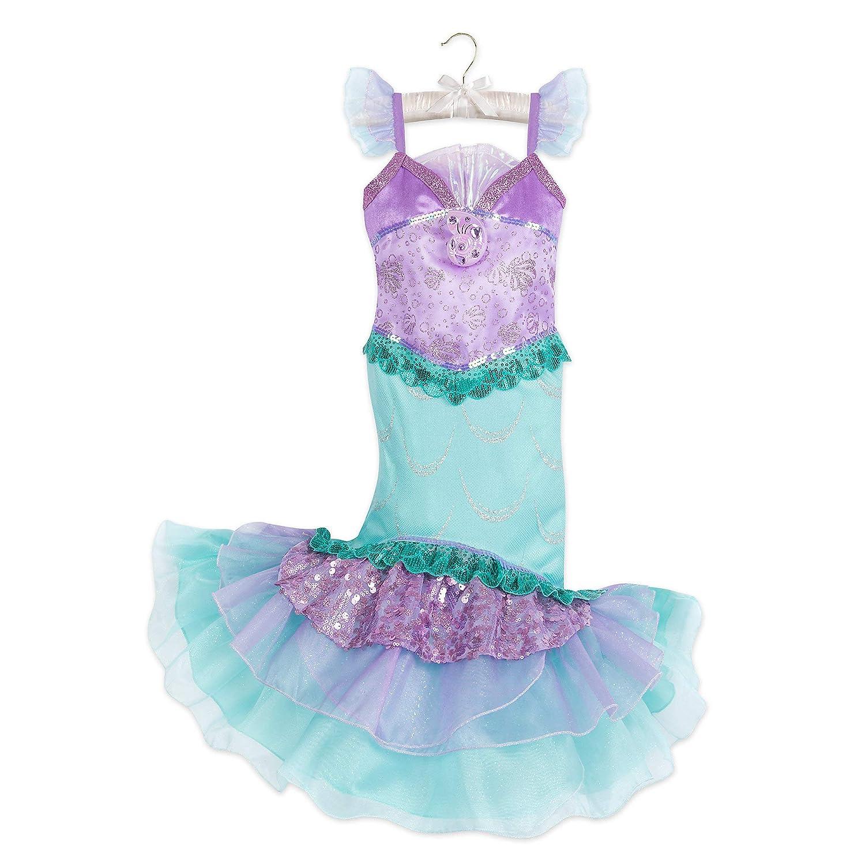 NEW Ariel Little Mermaid Girls Boutique Purple Ruffle Dress 2T 3T 4T 5-6