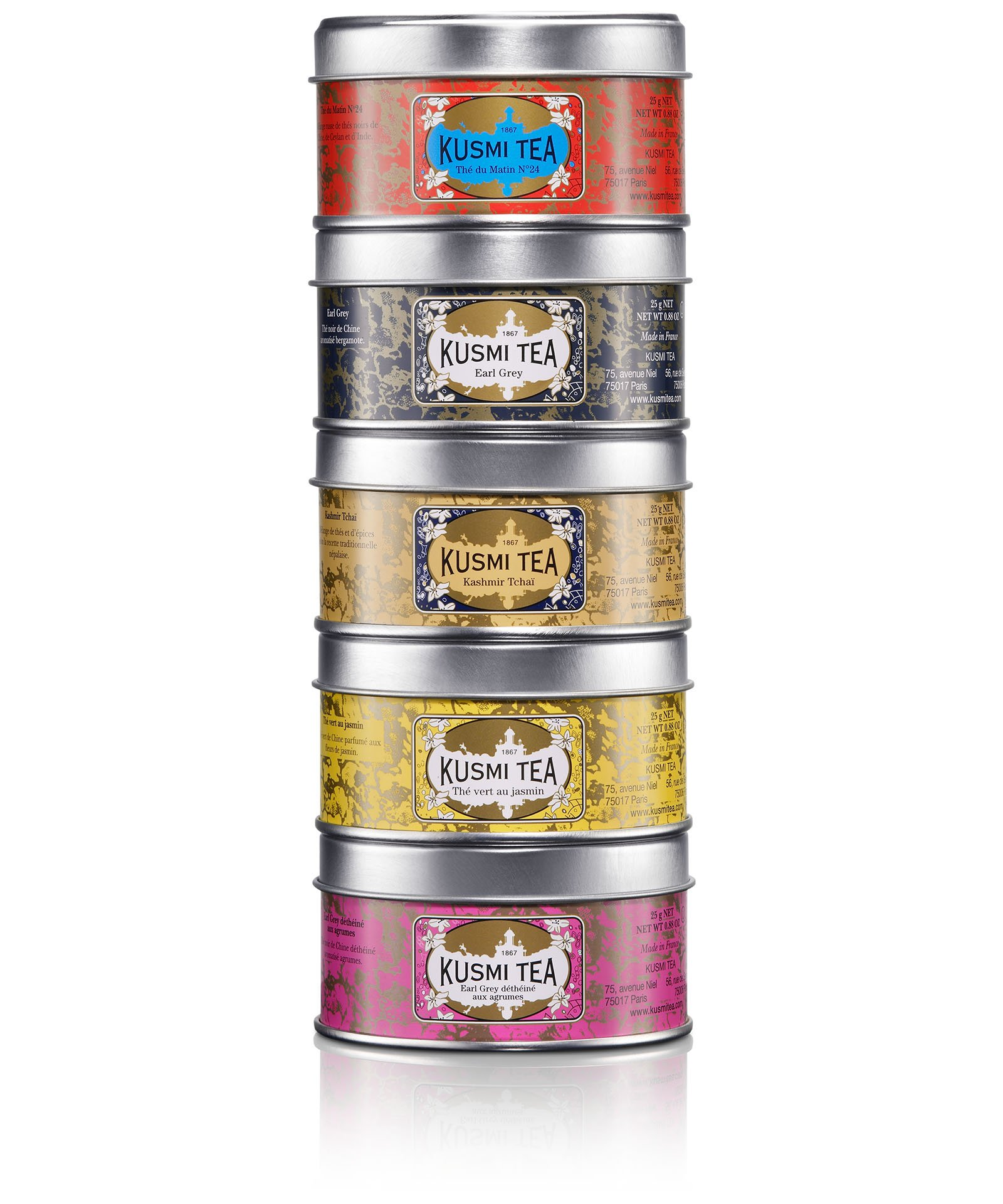 ONE MOMENT-ASSORTMENT OF 5 TINS