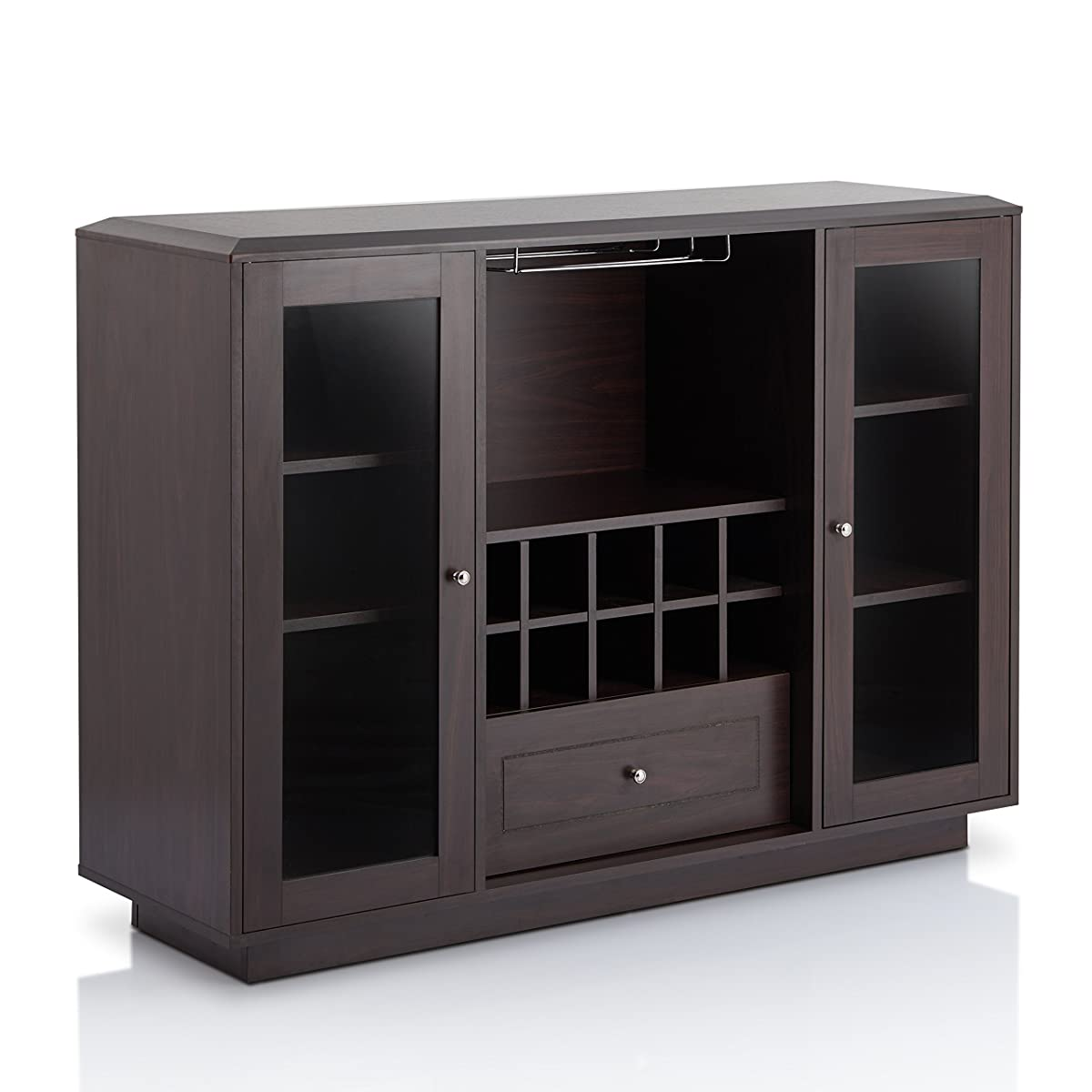 ioHOMES Olympia Multi Storage Dining Buffet, Espresso