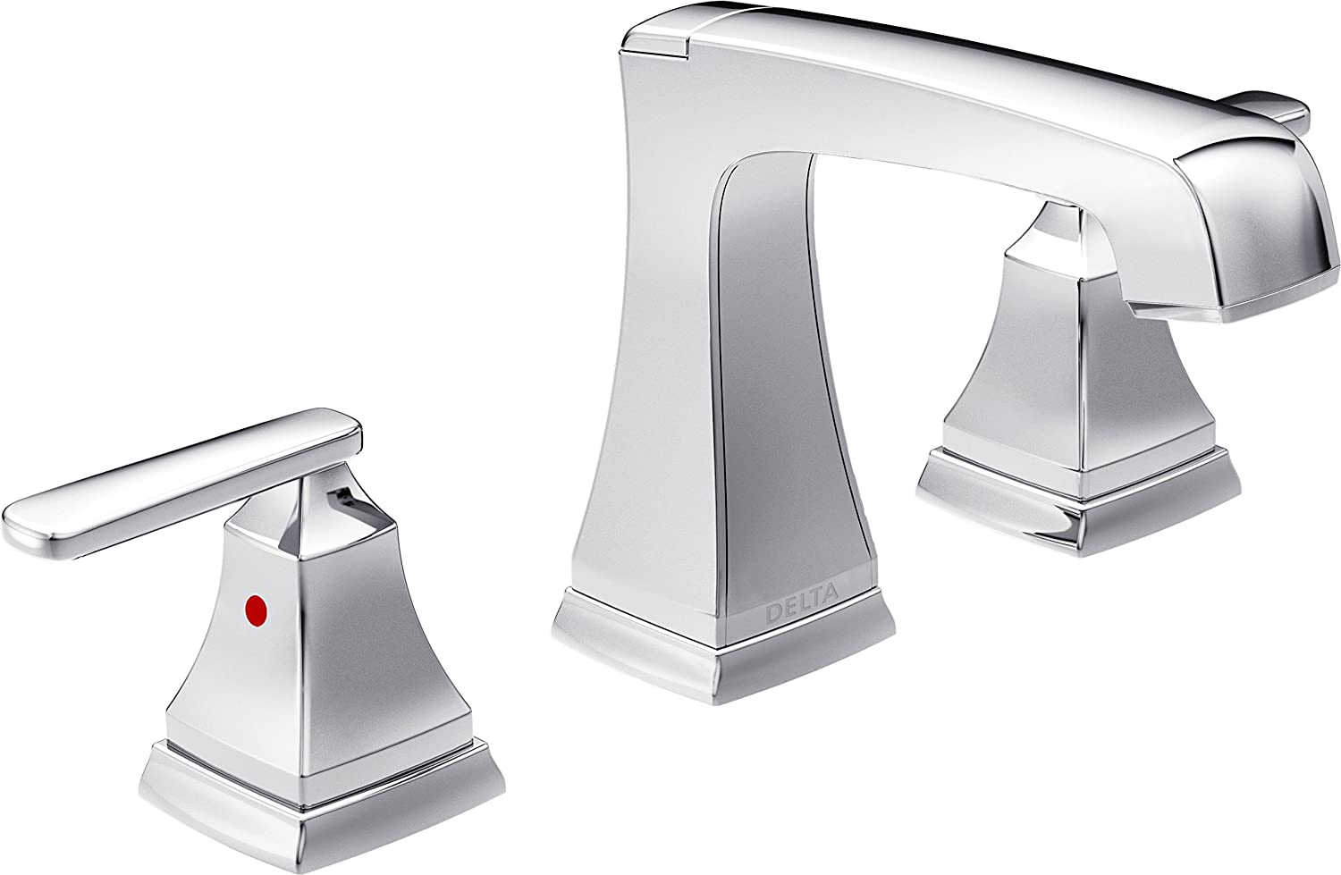 Delta 3564-MPU-DST Ashlyn 2-Handle Widespread Bathroom Faucet with ...