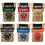 Western Wood Smoking Chip Variety Pack of 6, 180 cu in per Bag