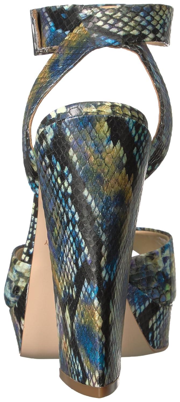 Katy Perry Women's The Maggie Wedge Sandal B01N5JXMYJ 9 B(M) US|Purple/Multi