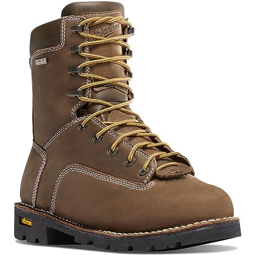 "Danner Men's Gritstone 400G 8"" Boot & Knit Cap Bundle"