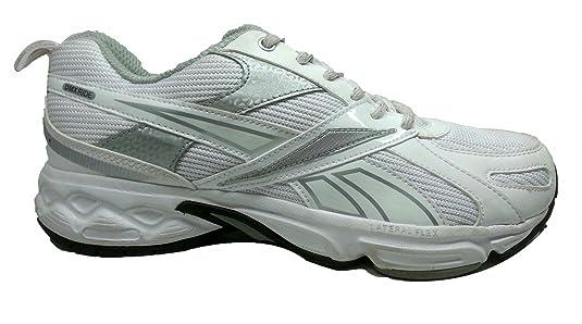 Reebok Men White Mesh Running Shoes <span at amazon