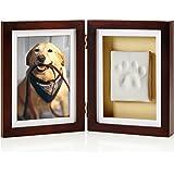 Pearhead Dog or Cat Paw Print Keepsake Photo Frame With Pet Pawprint Imprint Kit