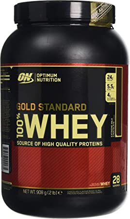 Optimum Nutrition 100% Whey Gold Standard, 2 LB Dose (Extreme Milk Chocolate)