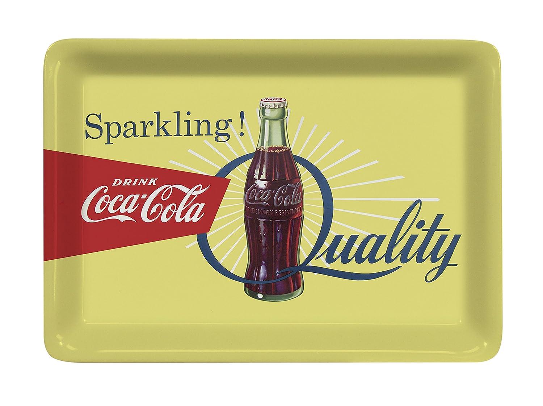 Platex 93112720928 Coca-Cola Plateau D/écor Bottle M/élamine 27 x 20 x 1 cm