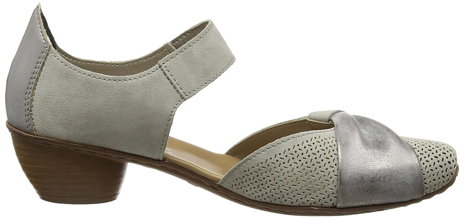 Rieker womens Slipper grey B(M) B016QD8ORU 6 B(M) grey US|Grey df0c1e