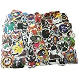 CHRONEX 100PCS Cool Vinyls Graffiti Stickers to Personalize Laptops, Skateboards, Luggage, Cars, Bumpers, Bikes.