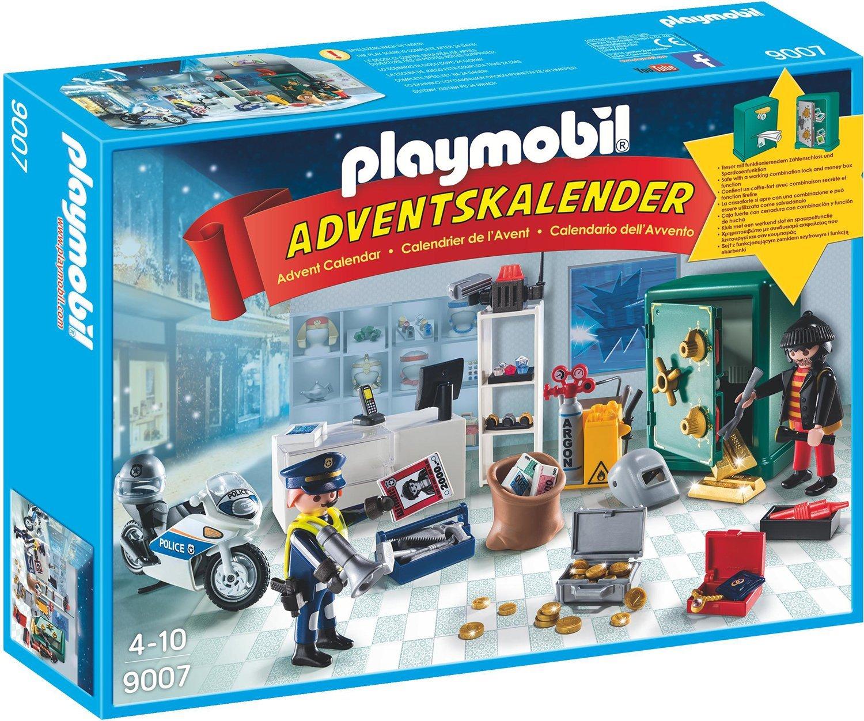 Playmobil 9007 - Adventskalender Polizeieinsatz im Juweliergeschäft de toys GEOVR